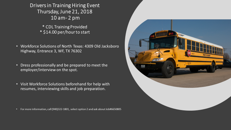 school bus driver license requirements texas